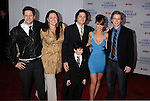 "WEST HOLLYWOOD, CA. - March 01: Jamie Kennedy, Camryn Manheim, Connor Gibbs, David Conrad, Jennifer Love Hewitt, and Chritoph Sanders arrive to the ""Ghost Whisperer"" 100th Episode Celebration at XIV on March 1, 2010 in West Hollywood, California."