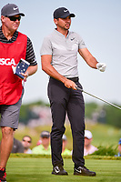 Jason Day (AUS) looks over his tee shot on 13 during Friday's round 2 of the 117th U.S. Open, at Erin Hills, Erin, Wisconsin. 6/16/2017.<br /> Picture: Golffile | Ken Murray<br /> <br /> <br /> All photo usage must carry mandatory copyright credit (&copy; Golffile | Ken Murray)