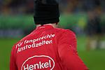 11.03.2019, Merkur Spielarena, Duesseldorf , GER, 1. FBL,  Fortuna Duesseldorf vs. Eintracht Frankfurt,<br />  <br /> DFL regulations prohibit any use of photographs as image sequences and/or quasi-video<br /> <br /> im Bild / picture shows: <br /> die Duesseldorfer Spieler weisen auf die unbefriedigenden Anfangszeiten hin<br /> <br /> Foto &copy; nordphoto / Meuter