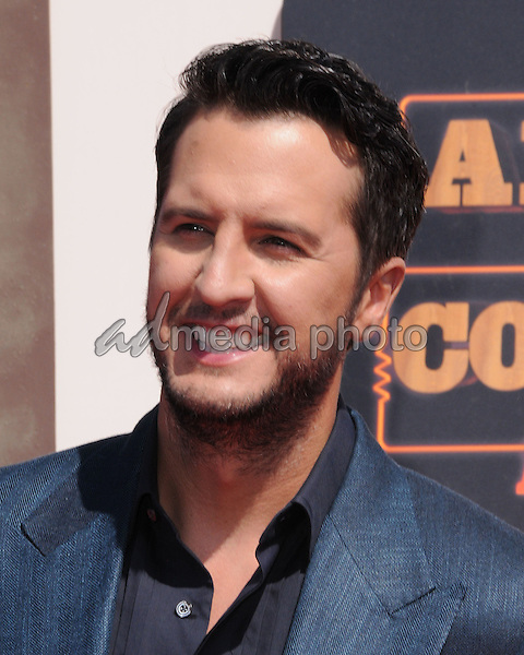 01 May 2016 - Inglewood, California - Luke Bryan. Arrivals for the 2016 American Country Countdown Awards held at The Forum. Photo Credit: Birdie Thompson/AdMedia