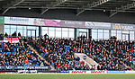 A general view of the crowd during the The FA Women's Championship match at the Proact Stadium, Chesterfield. Picture date: 12th January 2020. Picture credit should read: James Wilson/Sportimage
