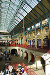 Old Covent Garden Market building interior, London, England