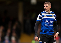 Bath Rugby's Ruaridh McConnochie<br /> <br /> Photographer Bob Bradford/CameraSport<br /> <br /> Premiership Rugby Cup Round 1 - Bath Rugby v Harlequins - Saturday 27th October 2018 - The Recreation Ground - Bath<br /> <br /> World Copyright © 2018 CameraSport. All rights reserved. 43 Linden Ave. Countesthorpe. Leicester. England. LE8 5PG - Tel: +44 (0) 116 277 4147 - admin@camerasport.com - www.camerasport.com