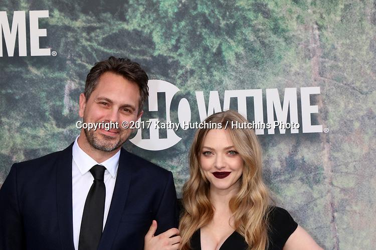 "LOS ANGELES - MAY 19:  Thomas Sadoski, Amanda Seyfried at the ""Twin Peaks"" Premiere Screening at The Theater at Ace Hotel on May 19, 2017 in Los Angeles, CA"