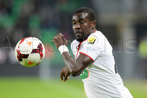 27.03.2014 Rennes, France. Pape SOUARE (lille) in action during the Coupe de France quarter final match between Rennes and Lille. Rennes won the match 2-0.
