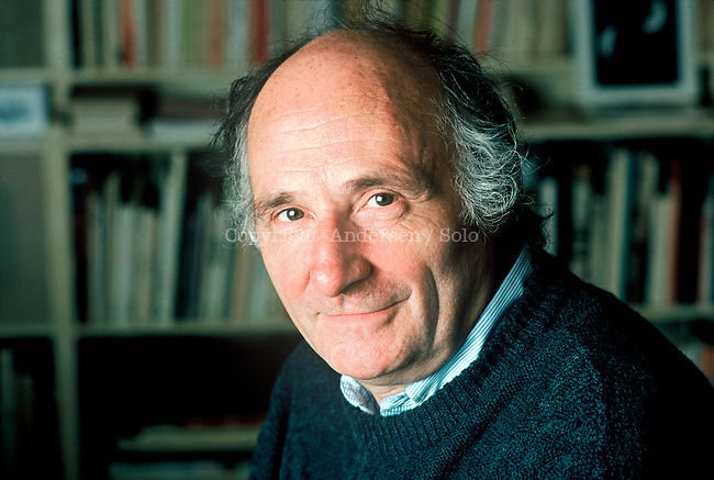 Jacques Roubaud, French writer and poet in 1988.
