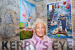 Exhibition: Marion Relihan of the Ballybunion Active Retirement  with her picture at the launch of their exhibition at St. John's Arts Centre, Listowel on Saturday afternoon last.