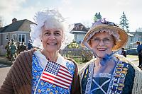 Veterans Day Parade 2018, Auburn, WA, USA.