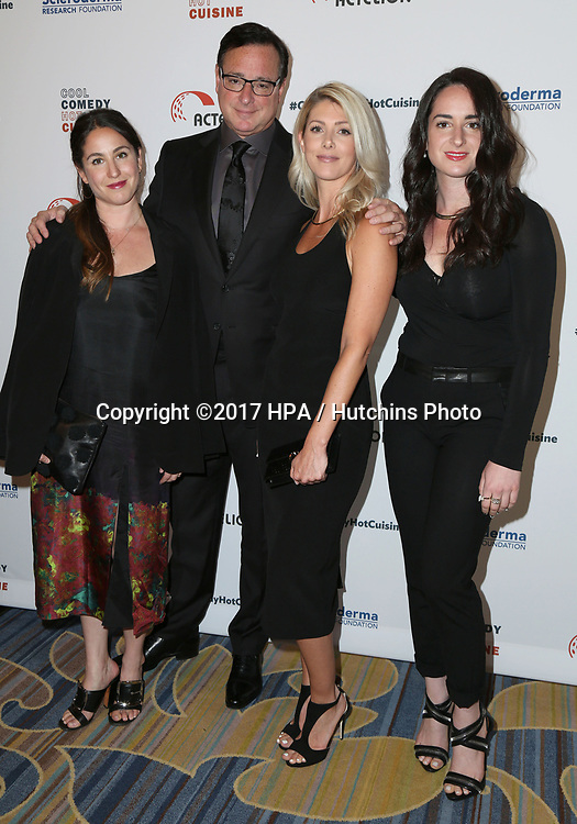 LOS ANGELES - JUN 16:  Aubrey Saget, Bob Saget, Kelly Rizzo, Lara Saget at the 30th Annual Scleroderma Benefit at the Beverly Wilshire Hotel on June 16, 2017 in Beverly Hills, CA