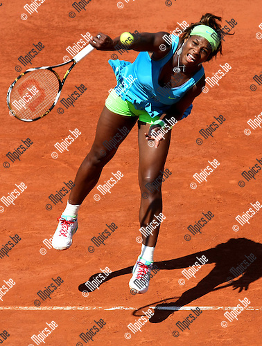 2010-05-24 / Tennis / Roland Garros 2010 / Day 2 / Serena Williams (USA)..Foto: mpics