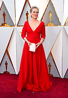 Meryl Streep arrives at the Oscars on Sunday, March 4, 2018, at the Dolby Theatre in Los Angeles. (Photo by Jordan Strauss/Invision/AP)