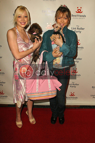 Courtney Peldon and Ashley Peldon<br /> at the 2005 Annual Lint Roller Party by Best Friends Animal Society, Hollywood Roosevelt Hotel, Hollywood, CA 05-06-05<br /> David Edwards/DailyCeleb.Com 818-249-4998