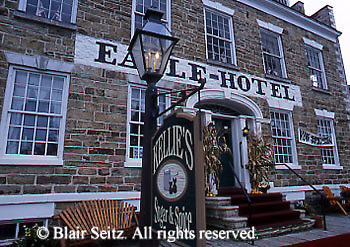Historic Eagle Hotel, Waterford, Erie Co., PA