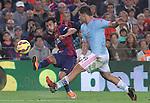 01.11.2014 Barcelona, Spain. La Liga day 10. Picture show Pedro in action during game between FC Barcelona against Celta de Vigo at Camp Nou