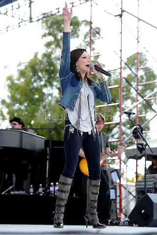 Martina  McBride performs at the 99.9 Kiss Country Chili Cookoff concert held at C.B. Smith park on January 30, 2011 in Pembroke Pines Florida. © MediaPunch Inc. / MPI04
