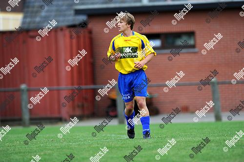2012-08-09 / Voetbal / seizoen 2012-2013 / Wuustwezel / Dries Vissers..Foto: Mpics.be