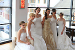 Sophie Ennis, Jennifer Neary, Suzanne O'Toole, Ellen Ennis, Eileen Short and Elaine Hobbs at the Bridal Photoshoot in Bru. Dresses by Edel Tuite, Bouquets by Kays School of Florestry, Makeup by the Beauty Academy and Jewellery by The Design Gallery...(Photo credit should read Jenny Matthews www.newsfile.ie)....This Picture has been sent you under the conditions enclosed by:.Newsfile Ltd..The Studio,.Millmount Abbey,.Drogheda,.Co Meath..Ireland..Tel: +353(0)41-9871240.Fax: +353(0)41-9871260.GSM: +353(0)86-2500958.email: pictures@newsfile.ie.www.newsfile.ie.