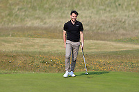 Gerard Dunne (Co. Louth) on the 15th green during Round 4 of the East of Ireland Amateur Open Championship sponsored by City North Hotel at Co. Louth Golf club in Baltray on Monday 6th June 2016.<br /> Photo by: Golffile   Thos Caffrey