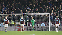 Burnley's Joe Hart looks dejected along with his team-mates after conceding a fourth goal, scored by Everton's Lucas Digne (not pictured)<br /> <br /> Photographer Rich Linley/CameraSport<br /> <br /> The Premier League - Burnley v Everton - Wednesday 26th December 2018 - Turf Moor - Burnley<br /> <br /> World Copyright &copy; 2018 CameraSport. All rights reserved. 43 Linden Ave. Countesthorpe. Leicester. England. LE8 5PG - Tel: +44 (0) 116 277 4147 - admin@camerasport.com - www.camerasport.com
