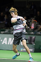 Rotterdam, Netherlands, 10 februari, 2019, Ahoy, Tennis, ABNAMROWTT, ANDREY RUBLEV (RUS) Photo: Henk Koster/tennisimages.com
