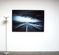 "Easterwood: Endless Road 1,  Dimensions 41.5"" x 62"" Digital Print, , film art, cleared art rental, cleared artwork, cleared artwork for film and tv"