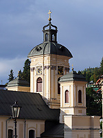 Pfarrkirche Mari&auml; Himmelfahrt - Kostol farsk&yacute; in Banska Stiavnica, Banskobystricky kraj, Slowakei, Europa<br /> Church assumption of Mary  in Banska Stavnica, Banskobystricky kraj, Slovakia, Europe