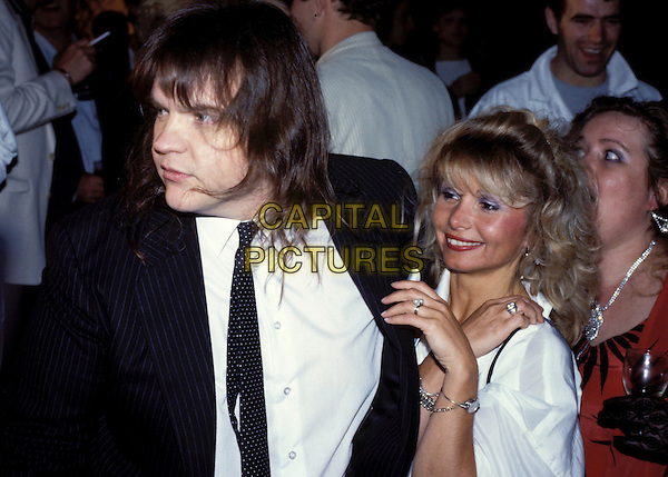 MEATLOAF & GABRIELLE.Ref: 026.www.capitalpictures.com.sales@capitalpictures.com.© Capital Pictures