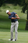 Charl Schwartzel (RSA) on the 17th on day 1 of the World Golf Championship Bridgestone Invitational, from Firestone Country Club, Akron, Ohio. 4/8/11.Picture Fran Caffrey www.golffile.ie
