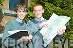 ENTREPRENEURS: Aki O'Rourke and Robert O'Shea from CBS The Green are Young Entrepreneur Finalists in June.