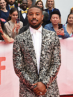 "TORONTO, ONTARIO - SEPTEMBER 06: Michael B. Jordan attends the ""Just Mercy"" premiere during the 2019 Toronto International Film Festival at Roy Thomson Hall on September 06, 2019 in Toronto, Canada. <br /> CAP/MPI/IS<br /> ©IS/MPI/Capital Pictures"