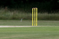Stumps during Gidea Park and Romford CC vs Harold Wood CC, Shepherd Neame Essex League Cricket at Gidea Park Sports Ground on 6th July 2019