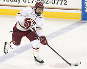 Scott Savage (BC - 2) - The Boston College Eagles defeated the visiting University of Connecticut Huskies 3-2 on Saturday, January 24, 2015, at Kelley Rink in Conte Forum in Chestnut Hill, Massachusetts.
