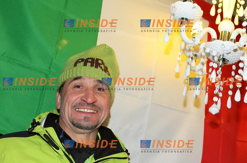 Heinrich Paris zio di Dominik Paris from Italy.09.02.2013, Tirolberg, Schladming, AUT, FIS .Mondiali Sci Alpino.Discesa Libera Uomini.foto Insidefoto / EXPA/ Martin Huber