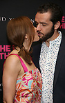 Laura Benanti and Patrick Brown attends 'The Boys in the Band' 50th Anniversary Celebration at The Booth Theatre on May 30, 2018 in New York City.