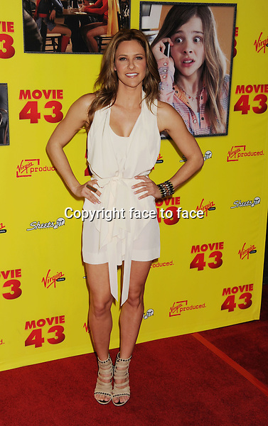 "HOLLYWOOD, CA - JANUARY 23: Jill Wagner attends the premiere of Relativity Media's ""Movie 43"" at TCL Chinese Theatre on January 23, 2013 in Hollywood, California. ..Credit: Mayer/face to face..- No Rights for USA, Canada and France -"