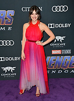 "LOS ANGELES, USA. April 22, 2019: Elizabeth Henstridge at the world premiere of Marvel Studios' ""Avengers: Endgame"".<br /> Picture: Paul Smith/Featureflash"