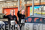 John Brassil and Tony Casey at the Valentines 10 mile road race in Tralee on Saturday.