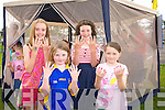 Katie Landers, Aoife Sweeney, Cora Savage and Mia Flynn enjoying the Ted O'Keeffe Family Fun Day at Ballymac GAA on Sunday