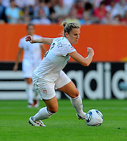 Amy Rodriguez of team USA during the FIFA Women's World Cup at the FIFA Stadium in Dresden, Germany on June 28th, 2011.