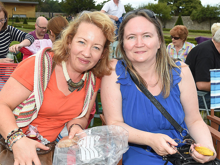 Margaret Smith and Margaret Leonard pictured at Wuthering Heights at Oldbridge House. Photo:Colin Bell/pressphotos.