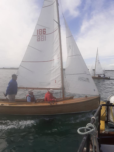 Mermaid Winner of Rush Regatta 2020 - 186 Gentoo, Brian McNally Skerries Sailing Club