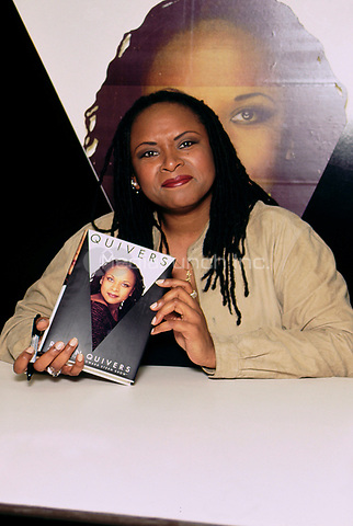 Robin Quivers promoting her new autobiography &quot;Quivers, A Life&quot;.<br /> May 1995.<br /> &copy; Scott Weiner /MediaPunch.