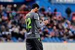 Real Sociedad's Willian Jose Da Silva during La Liga match between Getafe CF and Real Sociedad at Coliseum Alfonso Perez in Getafe, Spain. December 15, 2018. (ALTERPHOTOS/A. Perez Meca)
