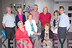 Children and their partners of Denis and Bridget Fitzgerald Boherbue who held the Fitzgerald family Gathering in the Malton Hotel Killarney on Sunday, front row l-r: Eileen Fitzgerald Boherbue, Hannah Fitzgerald Newcastle West, Bernie Fitzgerald Mallow. Back row: Sonny Fitzgerald Boherbue, Maureen Vaughan Kanturk, John Fitzgerald Newcastle West, Noel and Breda Curley Macroom and Denis Fitzgerald Mallow