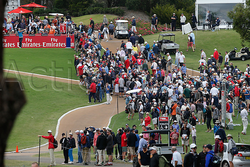 27.11.2014. Sydney, Australia. Australian Open Golf Championship, Round 1 held at The Australian Golf Club.  Large gallery on day 1