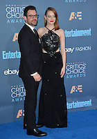 Emma Stone &amp; brother Spencer Stone at the 22nd Annual Critics' Choice Awards at Barker Hangar, Santa Monica Airport. <br /> December 11, 2016<br /> Picture: Paul Smith/Featureflash/SilverHub 0208 004 5359/ 07711 972644 Editors@silverhubmedia.com