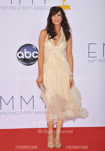 Kristen Wiig at the 64th Primetime Emmy Awards at the Nokia Theatre LA Live..September 23, 2012  Los Angeles, CA.Picture: Paul Smith / Featureflash
