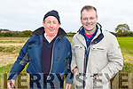 Pat O'Sullivan (Lixnaw/Duagh) and Moss Kelly (Duagh) enjoying the Kilflynn coursing meeting on Sunday.