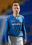 St Johnstone Academy v Manchester United Academy....17.04.15   <br /> Euan O'Reilly<br /> Picture by Graeme Hart.<br /> Copyright Perthshire Picture Agency<br /> Tel: 01738 623350  Mobile: 07990 594431