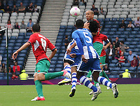 Men's Olympic Football match Honduras v Morocco on 26.7.12...of , during the Honduras v Morocco Men's Olympic Football match at Hampden Park, Glasgow...Picture John Millar / ProLens PhotoAgency / PLPA.Thursday 26th July 2012................